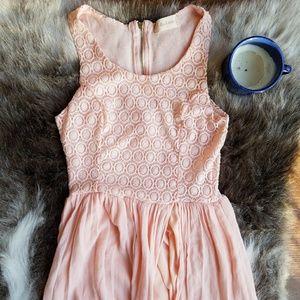 Altar'd State | Light As Air Pink Maxi Dress